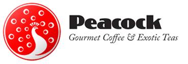 Peacock Tea & Coffee Logo